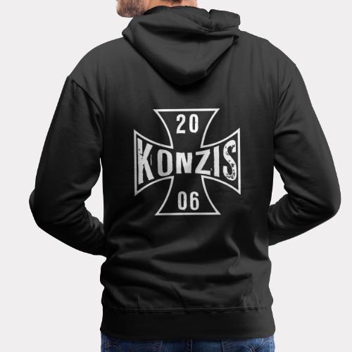 Konzis Iron Cross - Männer Premium Hoodie