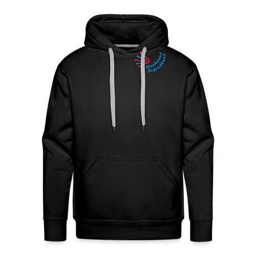 stephanus jugendhaus logo inkscape3 - Männer Premium Hoodie