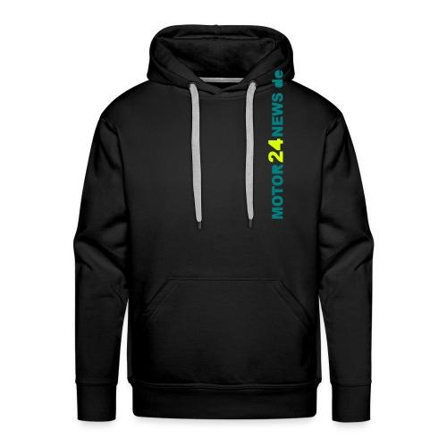 Motor24news-schrift - Männer Premium Hoodie
