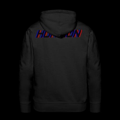 LOGO Horizon - Sweat-shirt à capuche Premium pour hommes