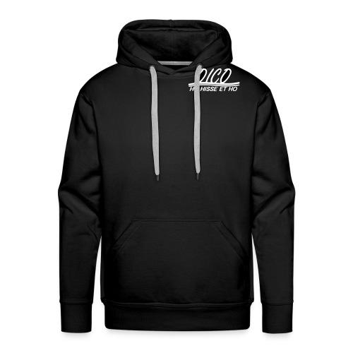 logo oico vectoris - Sweat-shirt à capuche Premium pour hommes
