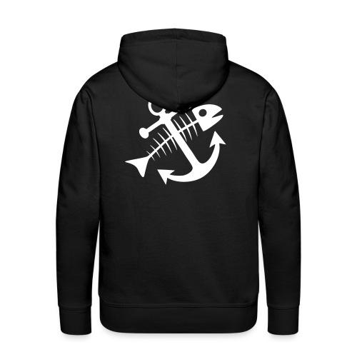 Fischkutterpirat cap - Männer Premium Hoodie