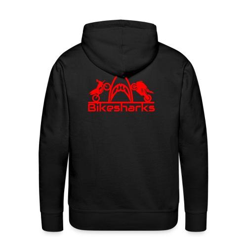 Bikesharkslogo Rot - Männer Premium Hoodie