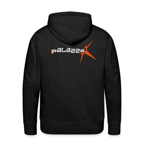 Palazzo Logo Klassik - auf schwarz / on black - Männer Premium Hoodie