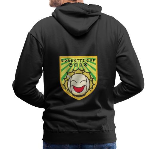BorbottiCuP 2018 Logo - Felpa con cappuccio premium da uomo