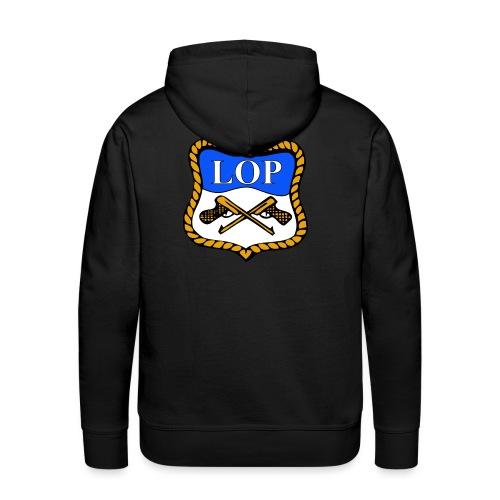 LOP LOGO - Premium hettegenser for menn