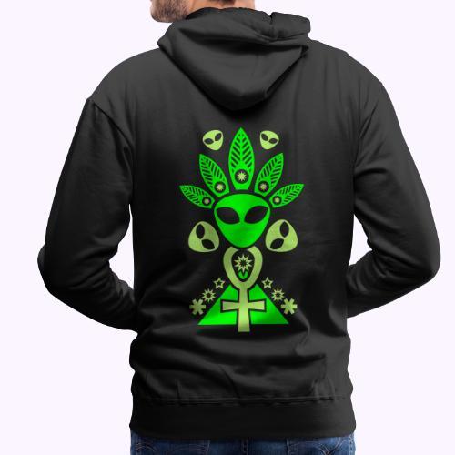 Ankhmania Glow - Sudadera con capucha premium para hombre