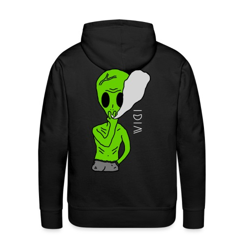 Hoodie Alien - Sweat-shirt à capuche Premium pour hommes