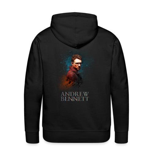 Andrew Bennett - Sweat-shirt à capuche Premium pour hommes