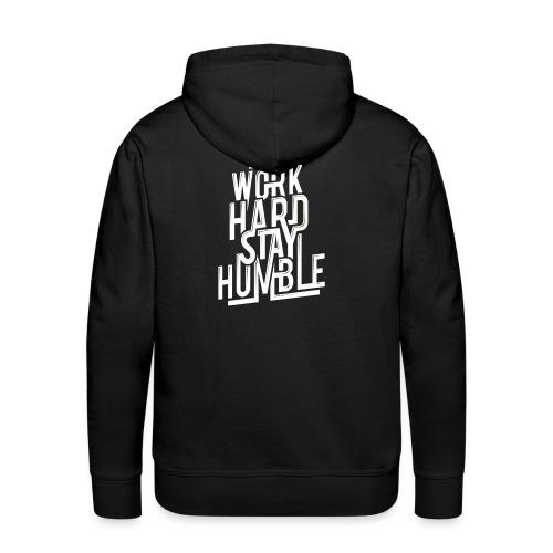 Humble - Felpa con cappuccio premium da uomo