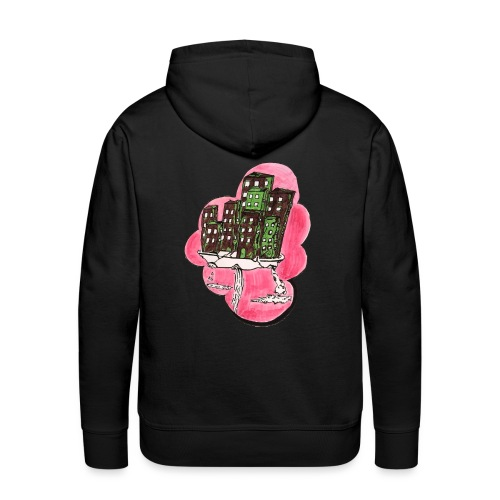 Design, bunt, haus, shirt,geschenk,idividuell - Männer Premium Hoodie