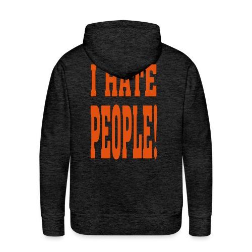 ik hou van dieren - Mannen Premium hoodie