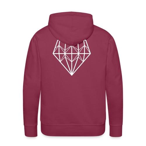 Diamond - Miesten premium-huppari