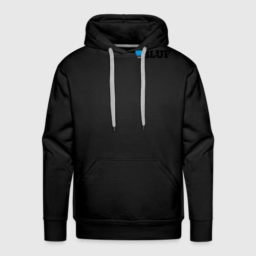 blufblacktext - Men's Premium Hoodie