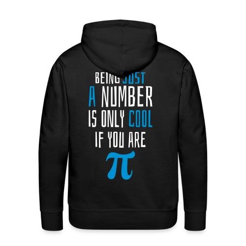 Zahl Pi Geek Spruch - Männer Premium Hoodie