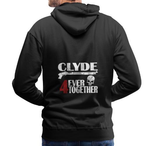 Bonnie - Clyde Geschenk Geschenkidee - Männer Premium Hoodie