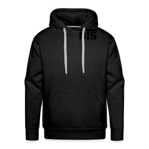 bts logo schrift rz illu10 - Männer Premium Hoodie