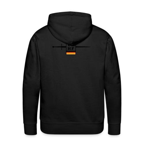Logo DDHF farbig - Männer Premium Hoodie