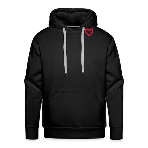 Stronger Everyday Heart - Men's Premium Hoodie