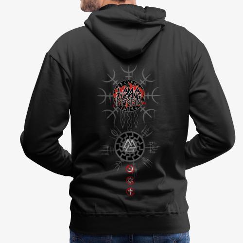 Pagan - Sweat-shirt à capuche Premium pour hommes