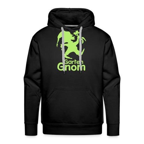 GartenGnom Logo Hochformat - Männer Premium Hoodie