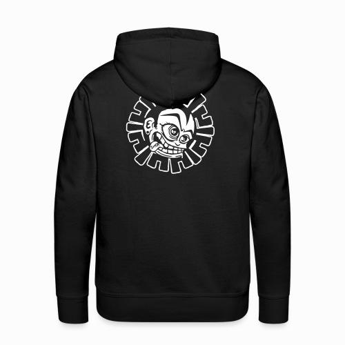 Makes me Dizzy_gros logo_ - Sweat-shirt à capuche Premium pour hommes