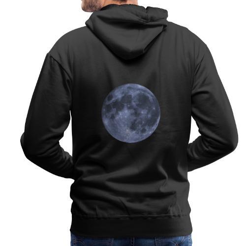 lune - Sweat-shirt à capuche Premium pour hommes