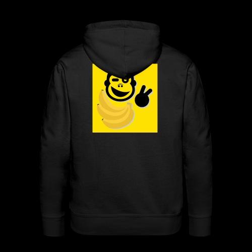 TB Logo gelb xxl 4000pix - Männer Premium Hoodie