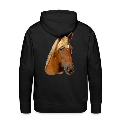 Horse Head - Men's Premium Hoodie