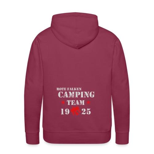 Camping Team 1 front png - Männer Premium Hoodie