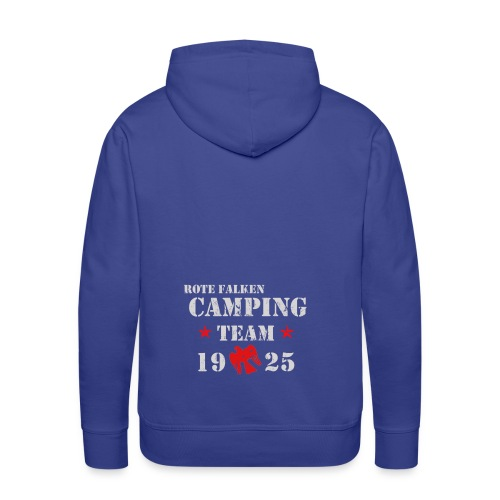 Camping Team 1 front png - Männer Premium Hoodie
