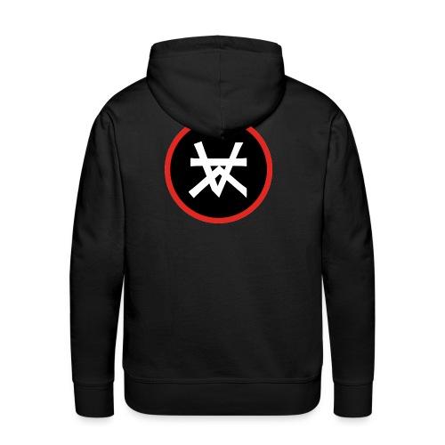 Kairos Logo Red&Round - Mannen Premium hoodie