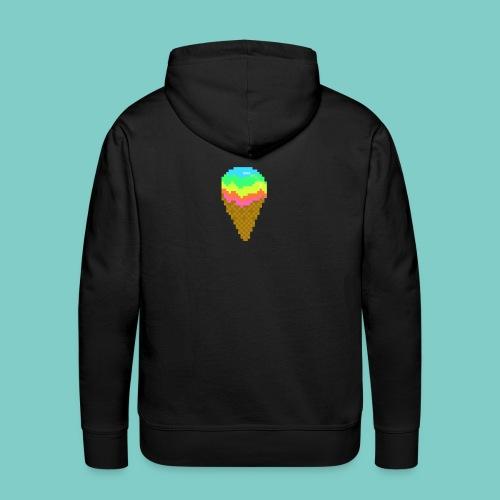 Glace - Sweat-shirt à capuche Premium pour hommes