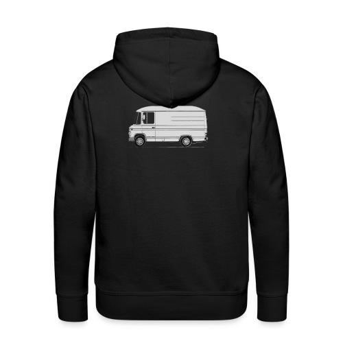 mb508 kort hoog - Mannen Premium hoodie