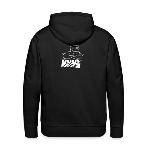 Logo Body Flex - Sweat-shirt à capuche Premium pour hommes