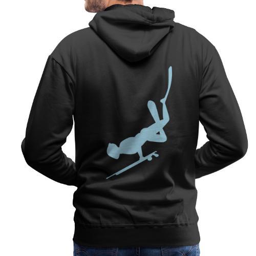 Chasseur sous-marin - Sweat-shirt à capuche Premium pour hommes