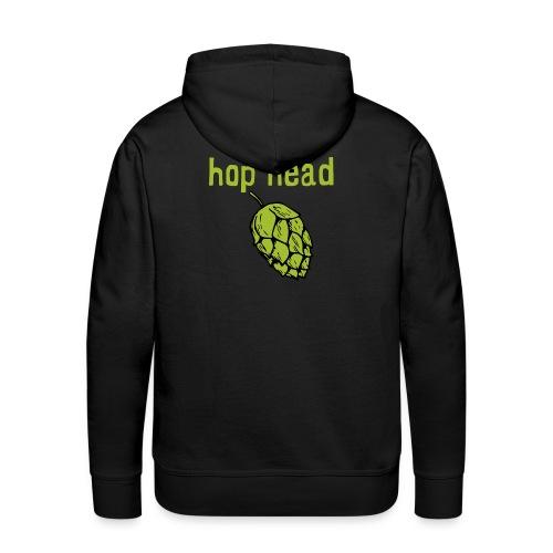 hop head - Sudadera con capucha premium para hombre