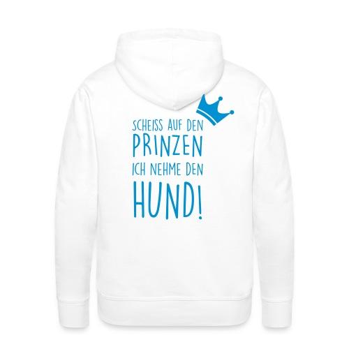 Vorschau: Prinz Hund - Männer Premium Hoodie