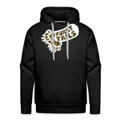 FURRY TARTAN - Sweat-shirt à capuche Premium pour hommes