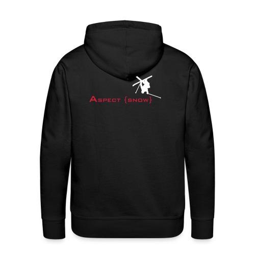 aspectskiwhiteorange - Men's Premium Hoodie
