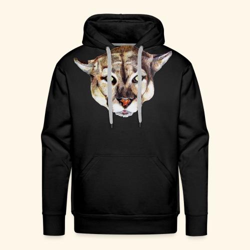 Artistic wild animal - Men's Premium Hoodie