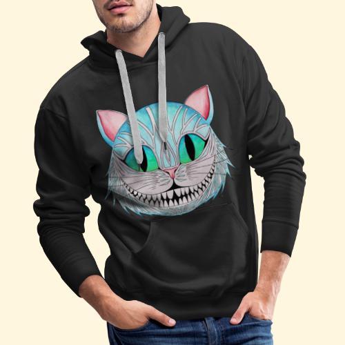 Le Chat de Cheshire - Sweat-shirt à capuche Premium pour hommes