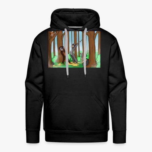 BEERTJEEE - Mannen Premium hoodie