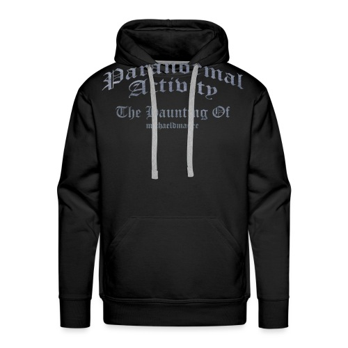 haunting of michaeldmagee png - Men's Premium Hoodie