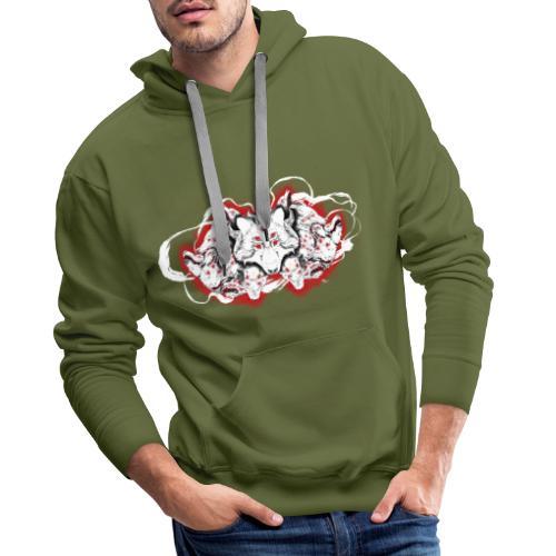 Arauc'Honaya - Sweat-shirt à capuche Premium pour hommes