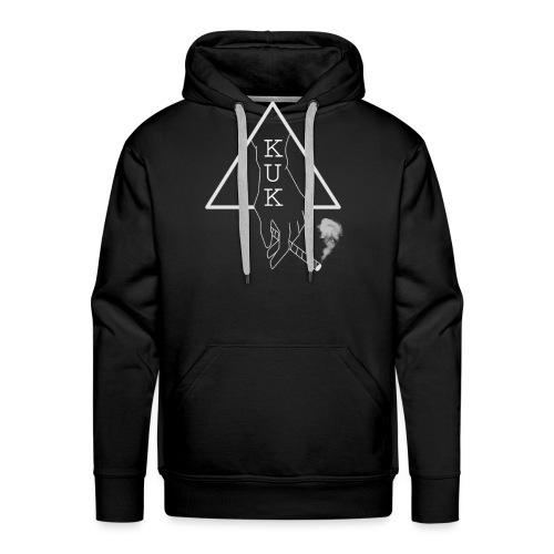 K.U.K - Logo Pulli schwarz - Männer Premium Hoodie