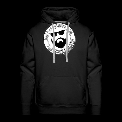 CIRCLE STAMP LOGO - Men's Premium Hoodie