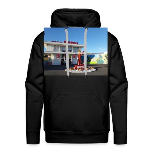 Haut Marque Parc spirou - Sweat-shirt à capuche Premium pour hommes