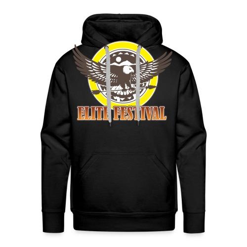 elite-festival-logo - Männer Premium Hoodie