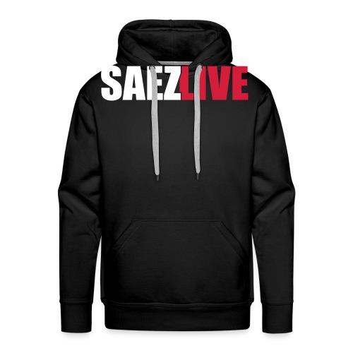 SaezLive - Sweat-shirt à capuche Premium pour hommes